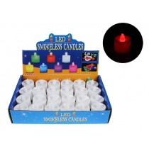 Christmas LED Color Changing Votive Candle ~ 24 per display