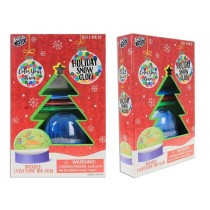 Christmas Color your own Snow Globe Craft Kit
