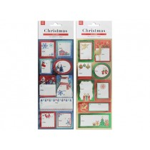 Christmas Shimmer Embossed Gift Tags