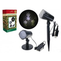 Christmas 4-LED Outdoor Snowstorm Light Show