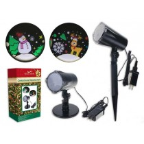 Christmas LED Outdoor 3D Rotating Projection Light Show