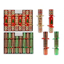 "Christmas Crackers - 10"" ~ 6 per pack"