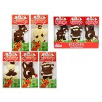 Christmas Rudolph & Pals Chocolate ~ 2.5oz