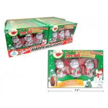 Christmas Peanut Butter Santa - Foil Covered ~ 3 per pack / 85g box