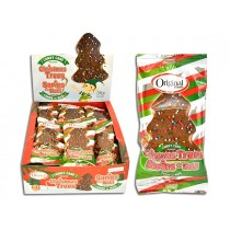 Christmas Original Candy Cane Chocolate Mashmallow Xmas Tree - 30gr ~ 24 per box