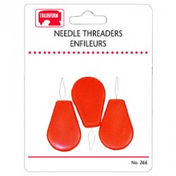 Plastic Needle Threaders ~ 3 per pack