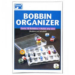 Plastic Bobbin Organizer ~ holds 18