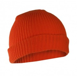 Fl. Orange Acrylic Toque