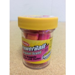 Berkley PowerBait Trout Nuggets ~ Sherbert
