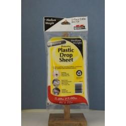 Bennett Plastic Drop Sheet - Medium Weight ~ 8' x 12'