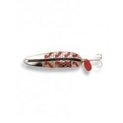 "Lucky Strike Gator Spoons 3.5"" {3/4oz} ~ Nickel"