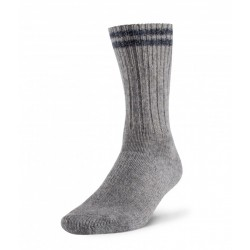 Robust Wool Work Sock - Grey / Blue ~ Size Medium