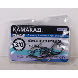 Kamakazi Black Octopus Hooks