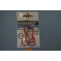 Kamikazi Circle Hook - Red