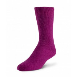 Boreal Wool Outdoor Thermal Sock - Dark Pink ~ Size Medium