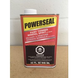 Powerseal Paint Thinner / Mineral Spirits ~ 946ml tin