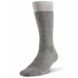 Boreal Wool Outdoor Thermal Sock - Grey ~ Size Large
