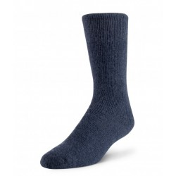 Boreal Wool Outdoor Thermal Sock - Denim ~ Size Large