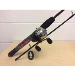 "Shakespeare Ugly Stik GX2 5'6"" - 2/pc Ladies Spincast Combo"