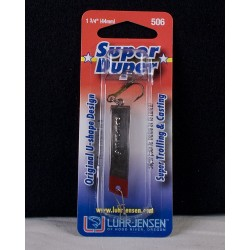 Super Duper Lure 506 Series ~ Nickel Red Head