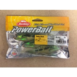 "Berkley 4"" Pre-Rigged Swim Shad ~ Baby Bass"