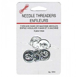 Metal Needle Threaders ~ 4 per pack