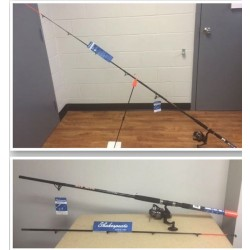 Shakespeare Bank Stix Spinning Combo, 7' ~ 2/pc