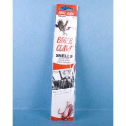 Eagle Claw Snelled Baitholder Hooks