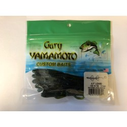 """Gary Yamamoto 4.5"""" Baby Lizards ~ Watermelon/Black Flake"""