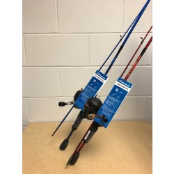 "Shakespeare Navigator Spincast Combo - Medium Action ~ 5'6"" - 2 piece"