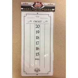"Cricketeer Dry Erase Scoreboard ~ 7.75"" x 15.5"""
