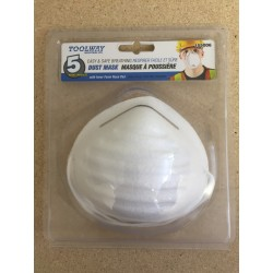 Dust Masks ~ 5 per pack