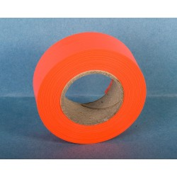 Trail Marker Tape ~ Glow Orange