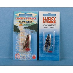 Lucky Strike Nugget Lure 1.75""