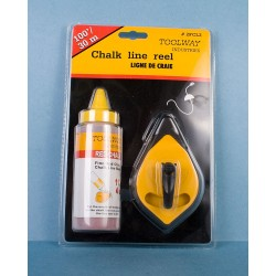 Chalk Line Reel ~ 100' / 30M