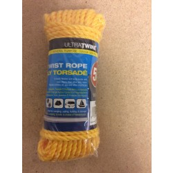 Poly Twisted Rope ~ 3/16 x 50'