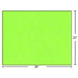 Bristol Board ~ Fluorescent Green