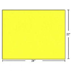 Bristol Board ~ Fluorescent Yellow