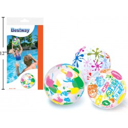 "20"" Inflatable Designer Print Beach Ball"