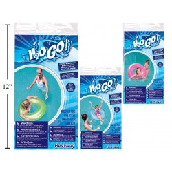 """30"""" Inflatable Frosted Neon Swim Ring"""
