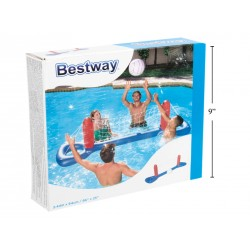 "Inflatable Water Volleyball Set ~ 96"" x 25"""