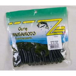 "Yamamoto 5"" Single Tail Grub ~ Watermelon No Flake"