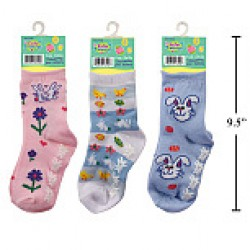 Kid's Easter Socks ~ Size 5-6
