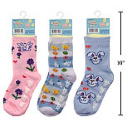 Kid's Easter Socks ~ Size 6-7
