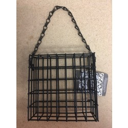 Single Bird Suet Cage Feeder
