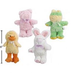 "Easter Plush Animals - 6.5"""
