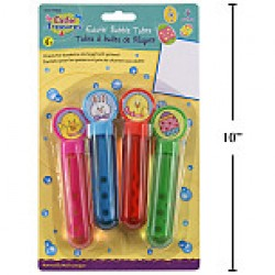 Easter Bubble Tubes ~ 4 per pack