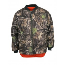 Camo Hunting Reversible Jacket to Fl. Orange