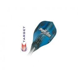 Target Power Vision-Edge Flights ~ Power - Blue on Black