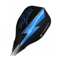 Target Power Vision-Edge Flights ~ Power - Blue Thunder on Black